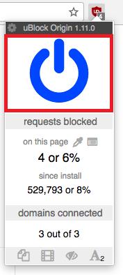 Ublock Origin Whitelist for PrizeRebel