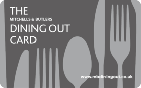 5 GBP Mitchells & Butlers Gift Card