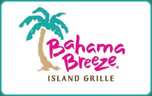 $10 Bahama Breeze® Gift Card