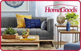$10 HomeGoods Gift Card