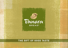 $10 Panera Bread Gift Card