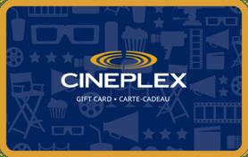 10 CAD Cineplex Odeon (Canada) Gift Card