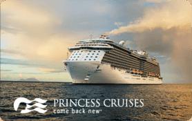 $25 Princess Cruise Lines, Ltd. Gift Card