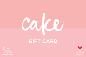25 CAD Cake Beauty Canada Gift Card