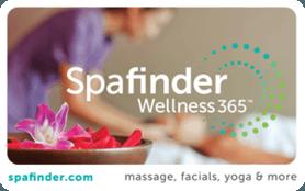 $25 Spafinder® Wellness 365™ Gift Card