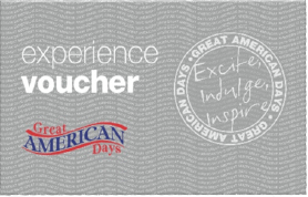$25 Great American Days Gift Card