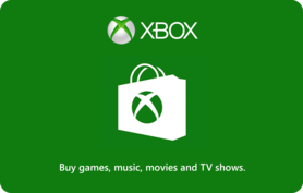 $25 Xbox Live Gift Card