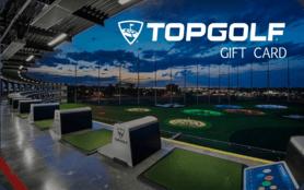$10 TopGolf Gift Card