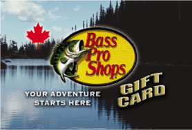 5 CAD Bass Pro Shops® Canada Gift Card