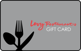 $25 Levy Restaurants Gift Card