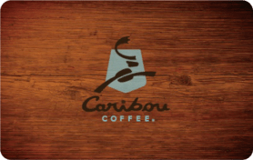 $5 Caribou Coffee Gift Card