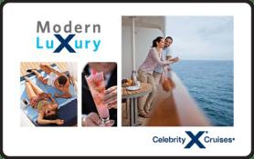 $25 Celebrity Cruises Gift Card