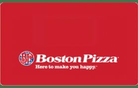 10 CAD Boston Pizza Gift Card