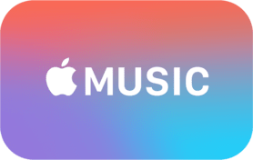 3 Month Apple Music Gift Card