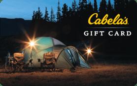 $25 Cabela s Gift Card