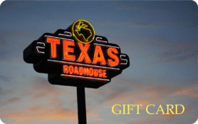 $5 Texas Roadhouse Gift Card