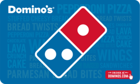 $10 Domino's Pizza Gift Card