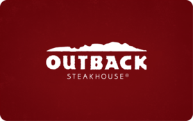 $5 Outback Steakhouse Gift Card