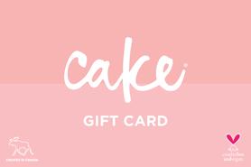 25 CAD Cake Beauty Canada Gift Card