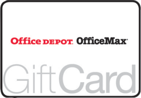 $10 Office Depot Gift Card