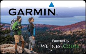 $25 Garmin powered by WellnessCodes Gift Card