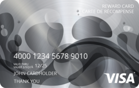 50 CAD Visa* Prepaid Card