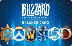 $20 Blizzard Battlenet Gift Card