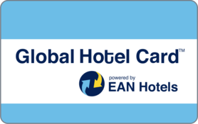 $25 Global Hotel Gift Card powered by Orbitz Gift Card