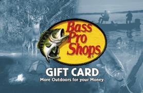 $10 Bass Pro Shops Gift Card