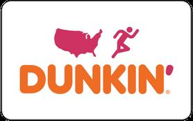 $5 Dunkin  Donuts Gift Card