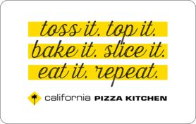$5 California Pizza Kitchen Gift Card
