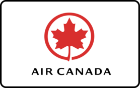 25 CAD Air Canada Gift Card