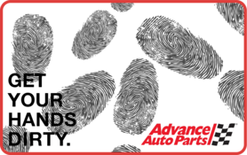 $10 Advance Auto Parts Gift Card
