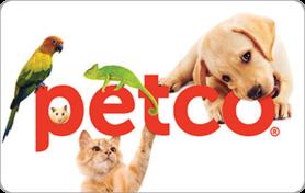 $10 Petco Gift Card