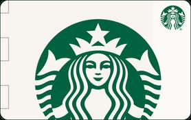 $10 Starbucks Card Gift Canada