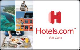 $10 Hotels.com Gift Card