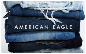 $25 American Eagle Outfitters Gift Card