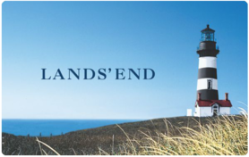 $25 Lands  End Gift Card