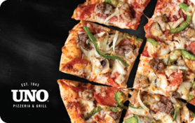 $10 Uno Chicago Grill Gift Card