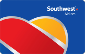 $50 Southwest Airlines Gift Card