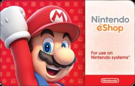 $10 Nintendo eShop Gift Card
