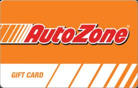 $10 AutoZone® Gift Card