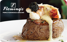 $5 Fleming's Prime Steakhouse & Wine Bar Gift Card