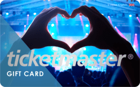 £10 Ticketmaster Gift Card UK