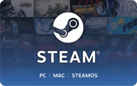 5 USD Steam Wallet GLOBAL