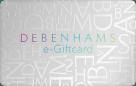 £10 Debenhams Giftcard
