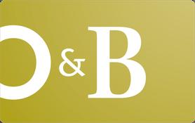 25 CAD Oliver & Bonacini Restaurants Gift Card