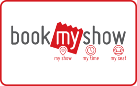 100 INR BookMyShow Gift Card