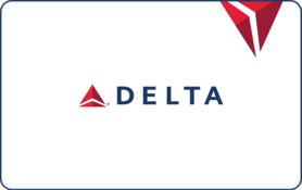 $500 Delta Air Lines Gift Card