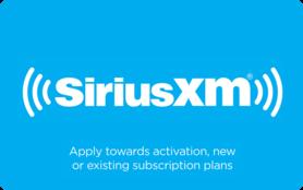 $15 SiriusXM Radio Gift Card